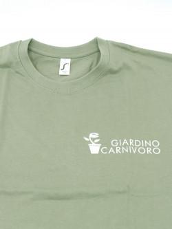 T-SHIRT VERDE SALVIA Giardino Carnivoro