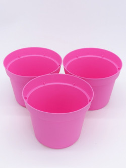 Round pot pink - Only italian costumers