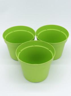Vaso tondo Ø 14 cm  verde lime