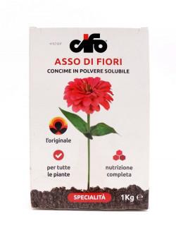 1 KG Concime solubile : Asso di fiori - CIFO