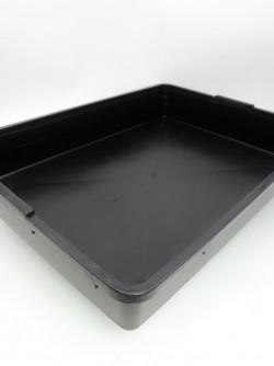 Sottovaso nero 60 x 40 x 8 cm