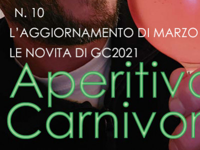 WHAT'S NEW IN GIARDINO CARNIVORO ? NEXT UPDATE ON 29 OF MARCH AT 20:00 O'CLOCK
